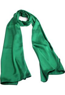 Echarpe Smm Acessórios Verde Bandeira