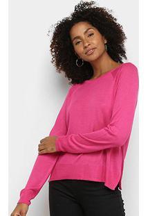 Blusão Tricô Hering Básico Feminino - Feminino