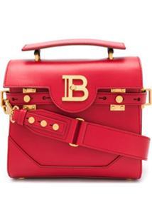Balmain Bolsa Tote B-Buzz 23 - Vermelho