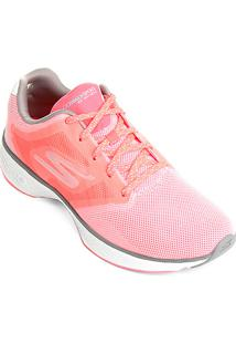 2ba13c5ef Tênis Rosa Skechers feminino