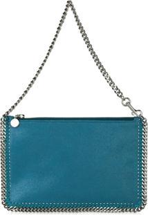 Stella Mccartney Clutch Modelo 'Falabella' - Azul