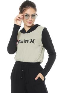Blusa Hurley One&Only Verde/Preta