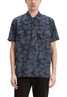 Camisa Levis Short Sleeve Military Justin Timberlake - S