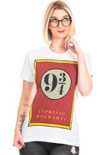 Camiseta Bloom Plataforma Useliverpool Feminina - Feminino-Branco