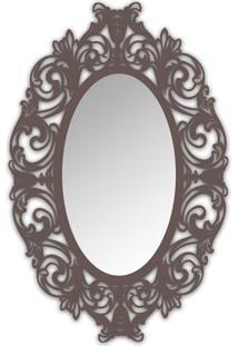Espelho De Parede 12875I Marrom 70X110 Art Shop