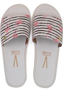96507ddfa2 ... Chinelo Slide Feminino Flamingo Vizzano