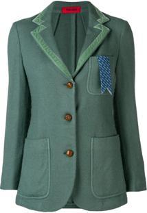 The Gigi Blazer Com Botões - Green