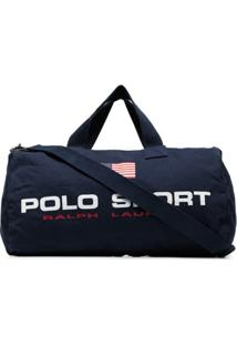 Polo Ralph Lauren Logo-Print Holdall - Azul