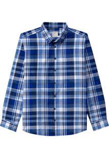 Camisa Xadrez Tricoline Malwee