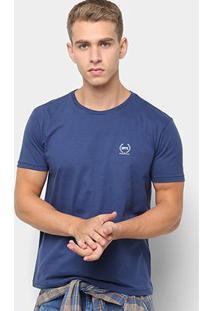 Camiseta Opera Rock Basic Ramos Masculina - Masculino-Marinho