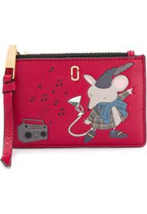 Marc Jacobs Carteira Mouse - Vermelho