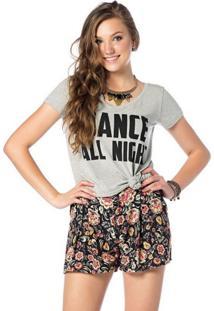 Camiseta Sly Wear Manga Curta Cinza