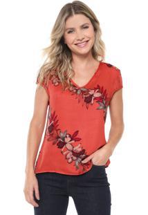 Blusa Cativa Floral Rosa