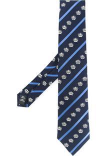 Gieves & Hawkes Gravata Com Padronagem - Azul