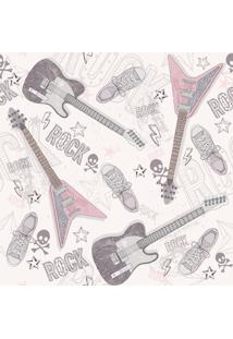 Papel De Parede Adesivo Rock Star (0,58M X 2,50M)