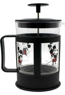 Cafeteira Francesa Em Vidro Do Mickey 600 Ml