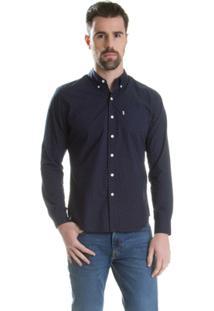 Camisa Levis Classic One Pocket - Masculino-Marinho
