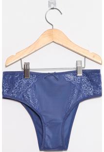 Calcinha Adulto Azul Royal - Valfrance - P