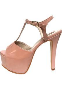 Sandália Blume Calçados La Vie Rosa Nude