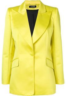 Styland Peaked Lapel Blazer - Amarelo