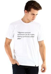 Camiseta Ouroboros Manga Curta Viva Masculina - Masculino