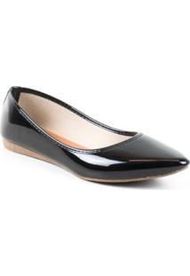 Sapatilha Tag Shoes Verniz Feminina - Feminino
