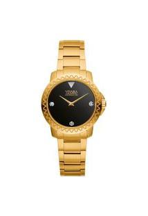 Relógio Vivara Feminino Aço Dourado - Ds13862R2B-1