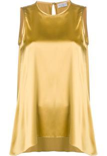 Brunello Cucinelli Regata De Cetim - Amarelo