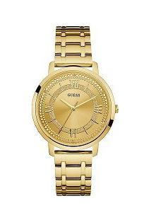 Relógio Guess Feminino Aço Dourado - W0933L2