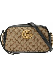 Gucci Gg Marmont Small Shoulder Bag - Neutro