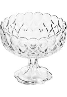 Fruteira De Cristal Viena - Unissex