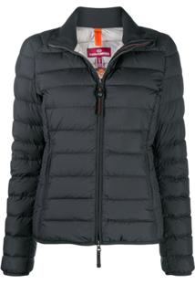 Parajumpers High-Neck Puffer Jacket - Preto