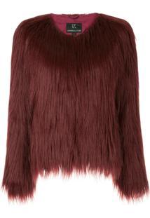 Unreal Fur Jaqueta 'Unreal Dream' - Vermelho