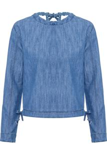 Blusa Feminina Unl Forever - Azul