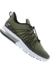 Tênis Nike Air Max Sequent 4 Utility - Masculino - Verde Escuro
