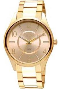 Relógio Technos 2035Lph/4D Feminino - Feminino-Dourado