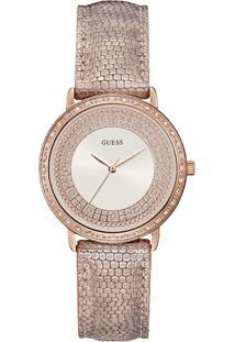 f450f0e6740 Relógio Digital Couro Rosa feminino