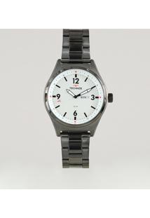 Relógio Analógico Technos Masculino - 2105Ax4B Grafite - Único
