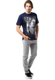 Camiseta Zero Thomas Masculina - Masculino-Marinho