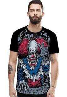 Camiseta Stompy Raglan Modelo 177 Masculina - Masculino-Preto