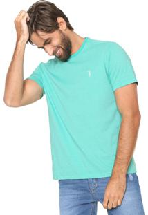 Camiseta Aleatory Padronagem Verde