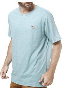 Camiseta Manga Curta Masculina Vels Vinho - Masculino