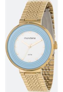 Relógio Feminino Mondaine 99122Lpmvde2 Analógico 5Atm