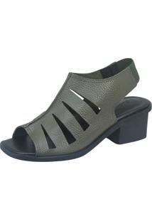 Sandália S2 Shoes Taís Verde Militar