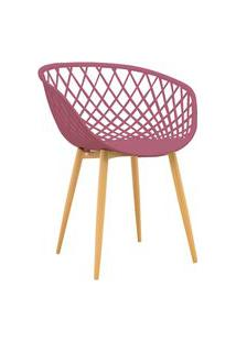 Cadeira Clarice Cereja Rivatti Rosa