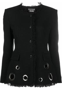 Boutique Moschino Blazer Slim - Preto