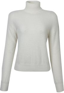Blusa Le Lis Blanc Rose Ii Tricot Off White Feminina (Dust, Gg)