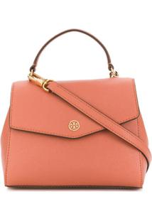 Tory Burch Robinson Small Top-Handle Satchel - Neutro