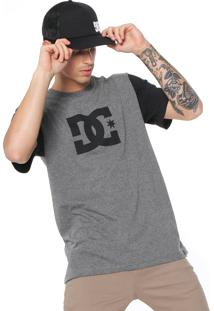 Camiseta Dc Shoes Star 2 Cinza