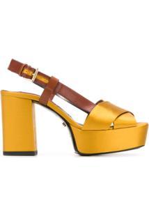 Dorothee Schumacher Sandália Com Fechamento Posterior - Amarelo